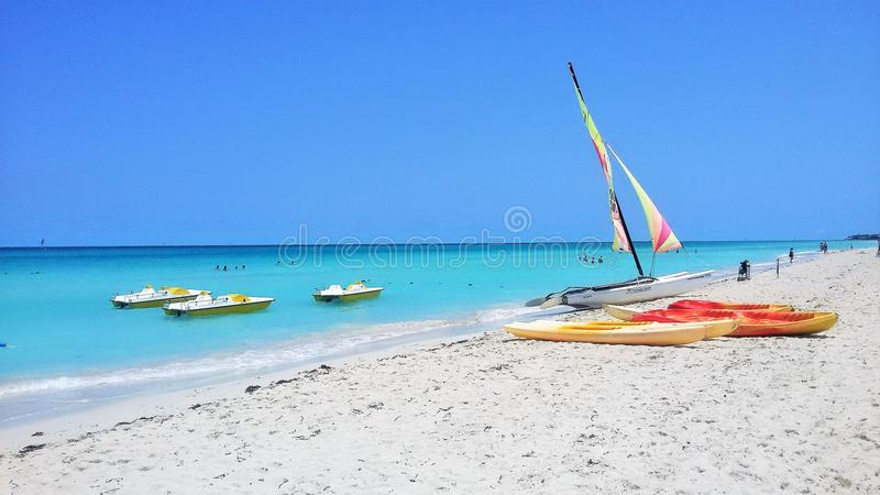 Varadero. (Spanish pronunciation: [baɾaˈðeɾo]) is a resort town in the province of Matanzas, Cuba, and one of the largest resort areas in royalty free stock photo