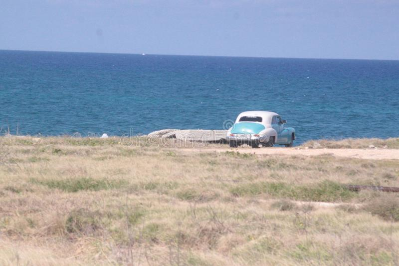 Varadero-car's Ansicht lizenzfreie stockfotografie