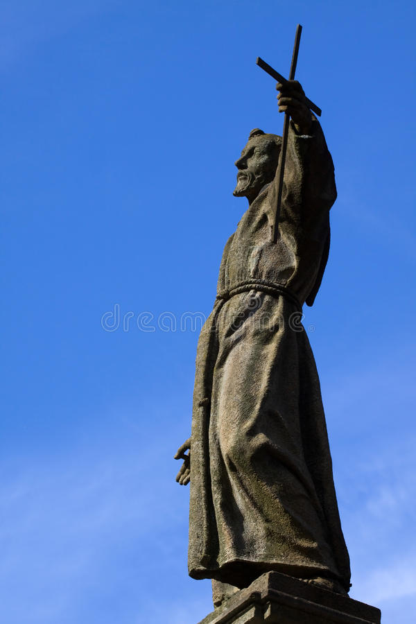 varallo αγαλμάτων του Francis Ιταλία Άγιος στοκ φωτογραφία με δικαίωμα ελεύθερης χρήσης