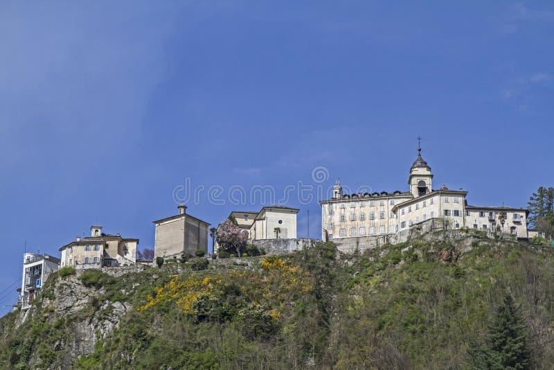 Varallo Sesia στοκ φωτογραφία με δικαίωμα ελεύθερης χρήσης