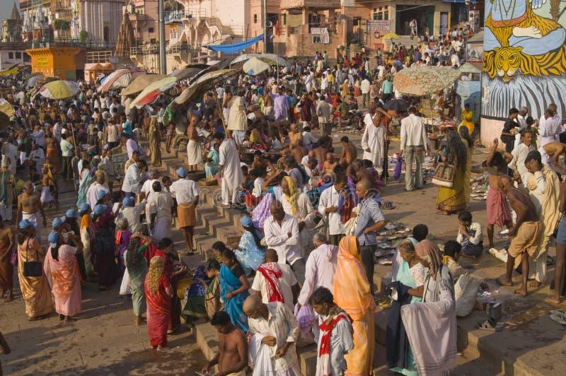 Varanasi stockbilder