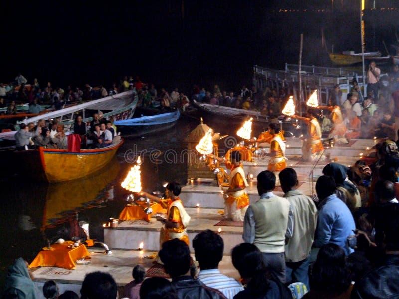 Varanasi fotografía de archivo