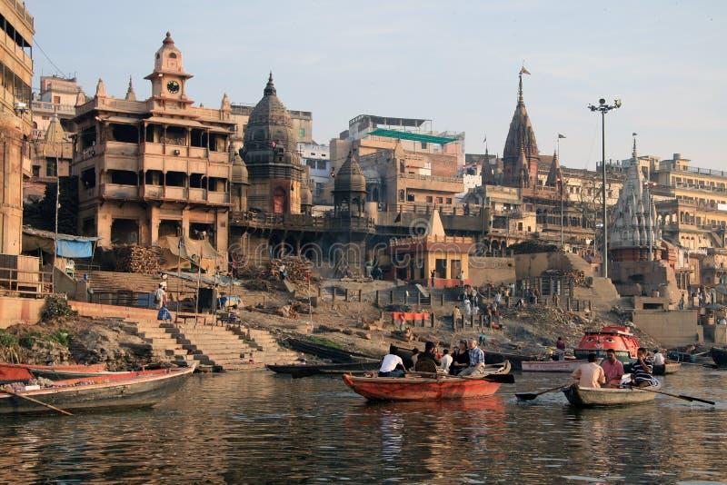 Varanasi 7 stockbild