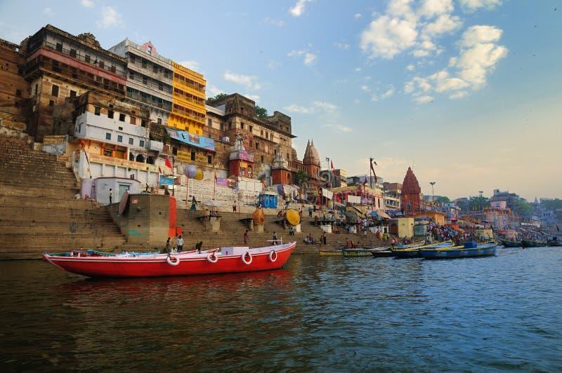 Varanasi city royalty free stock image