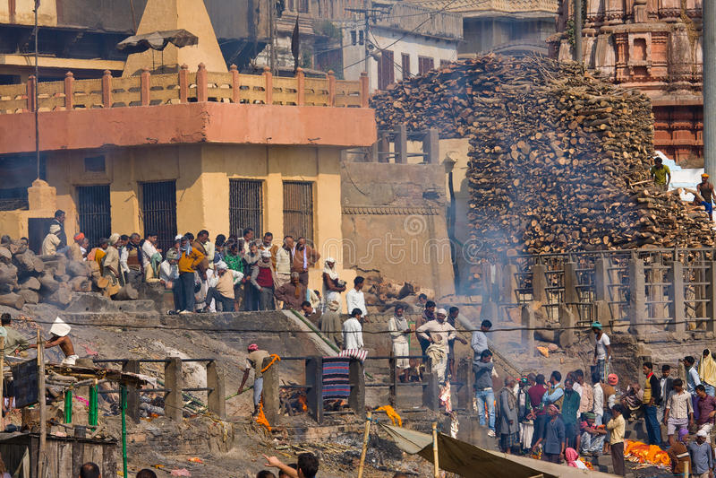 Download Varanasi, India editorial stock image. Image of boat - 28098384