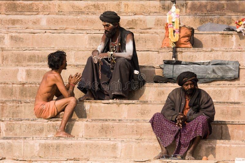 Varanasi, India. Editorial Stock Photo