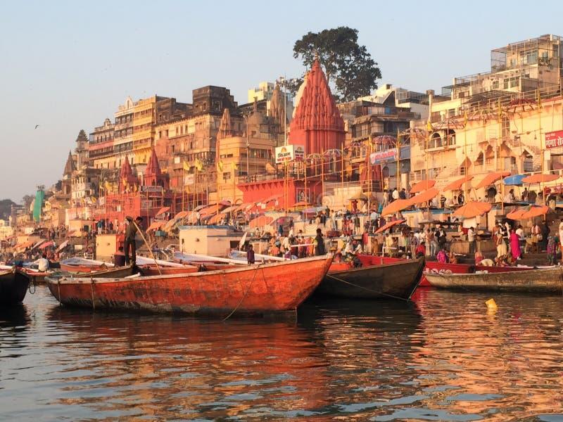 Varanasi India stock images