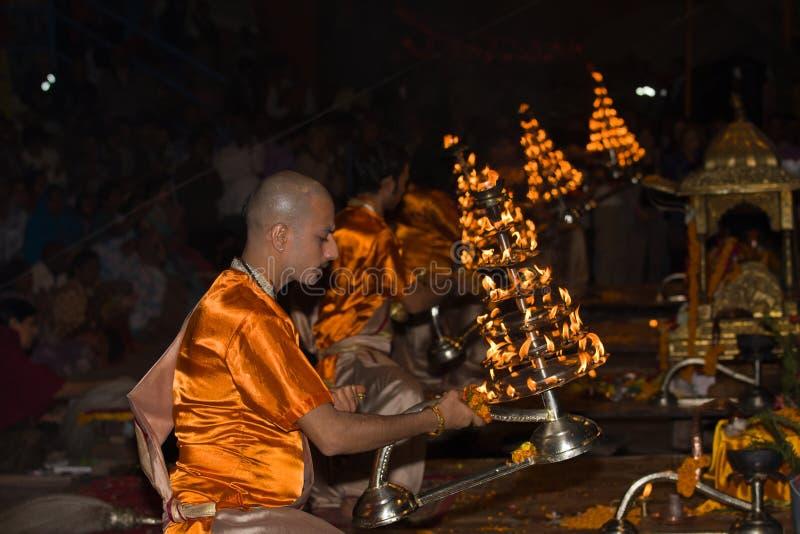 Varanasi, Indien lizenzfreie stockbilder