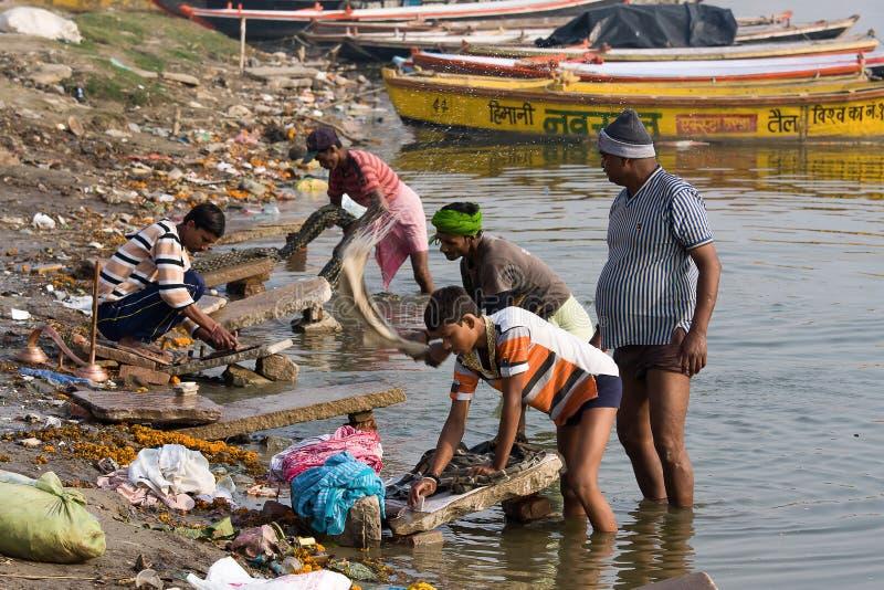 Varanasi, Indien. lizenzfreie stockbilder