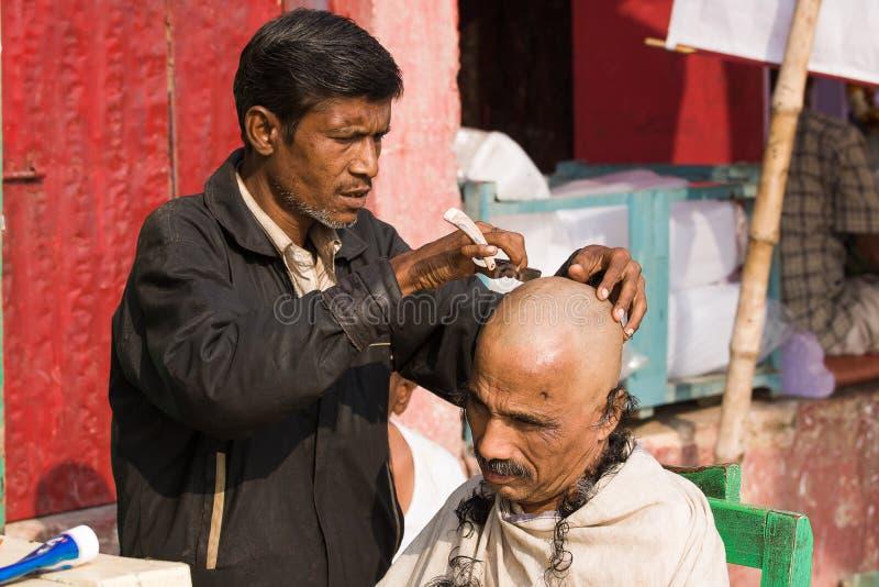 Varanasi, Indien. stockfotos