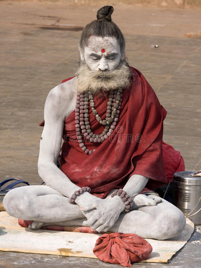 Varanasi, Indien. lizenzfreies stockbild
