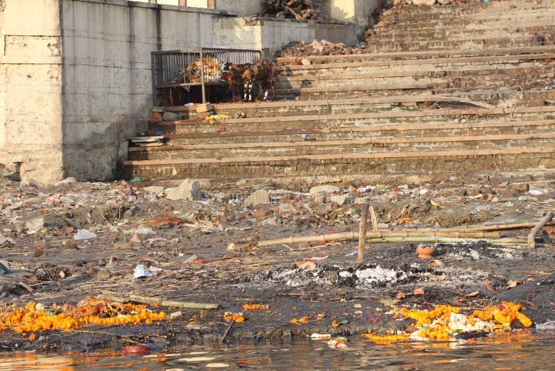 Varanasi, Indien lizenzfreies stockbild
