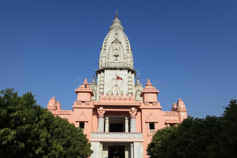 Varanasi Kashi Vishwanath Tempel royaltyfria bilder