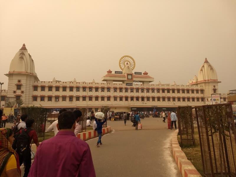 Varanasi miejsce bóg obrazy stock
