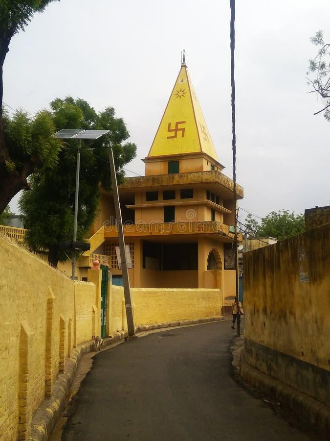 Varanasi SIVAY boga świątynia I DZIEJOWY miejsce obraz stock