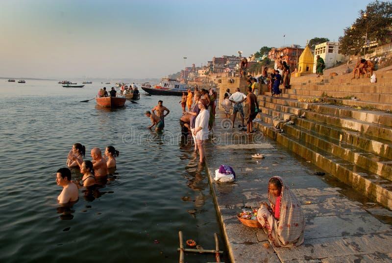 Varanasi w India zdjęcia stock