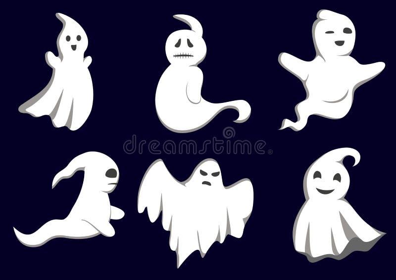 varar spökskrivareare gåta vektor illustrationer