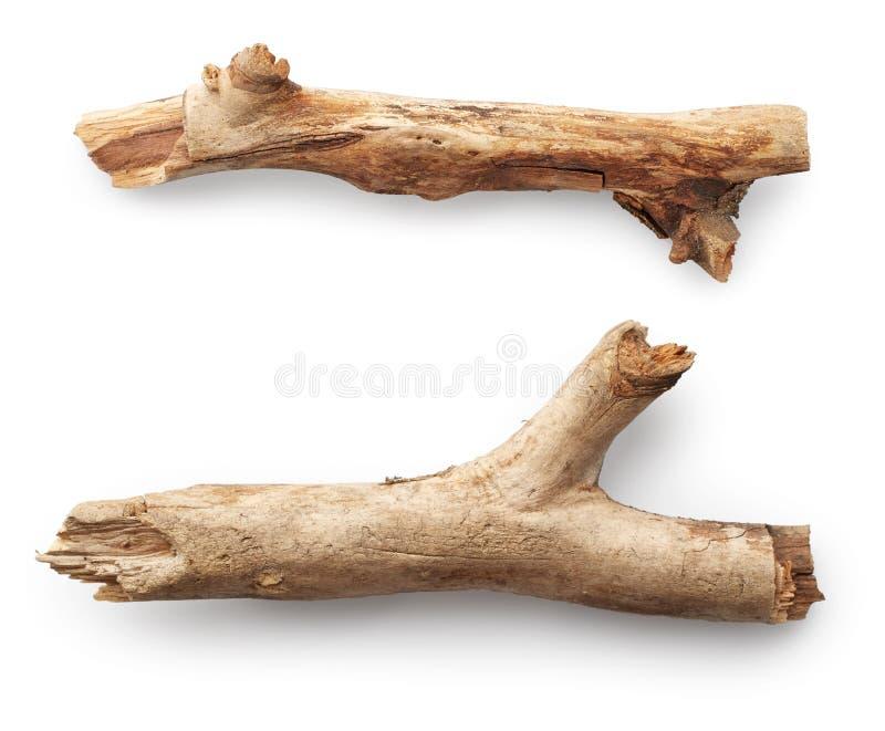 Varas de madeira foto de stock royalty free