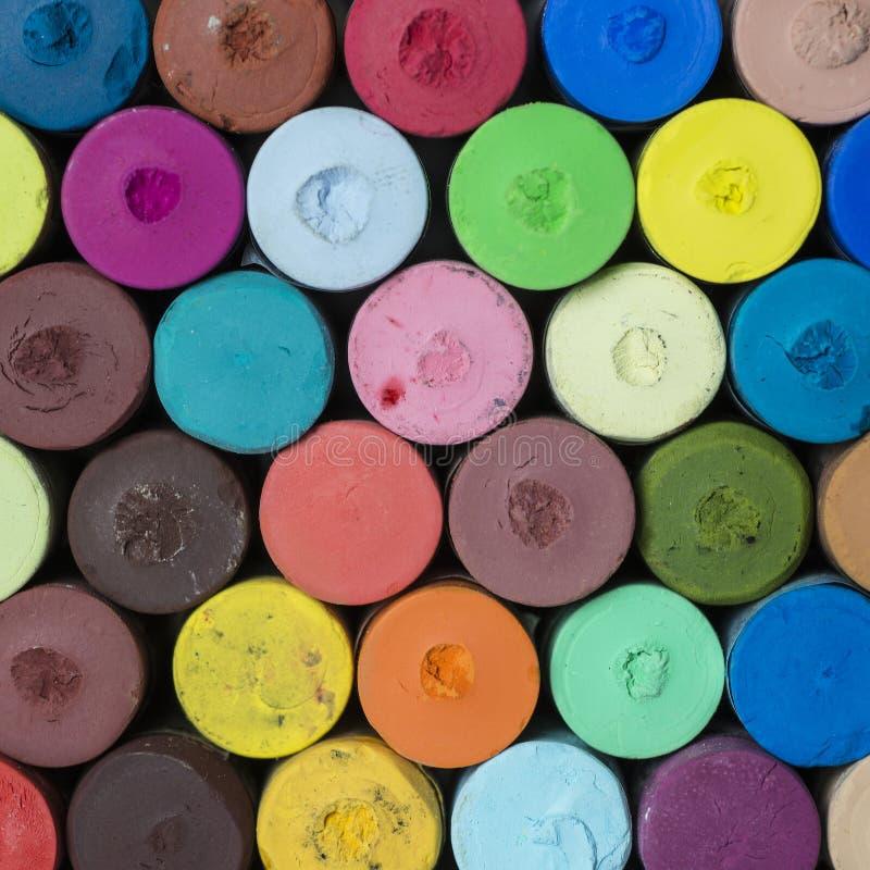 Varas Pastel macias fotografia de stock royalty free
