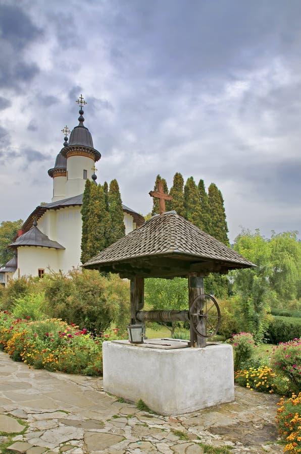 Varatec monaster, Rumunia zdjęcia stock