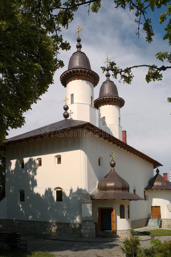 Varatec Monastery. Eastern Carpathians, Romania royalty free stock photos