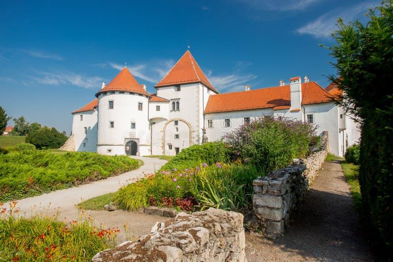 Varazdin castle, Croatia. Varazdin castle and park, Croatia royalty free stock images