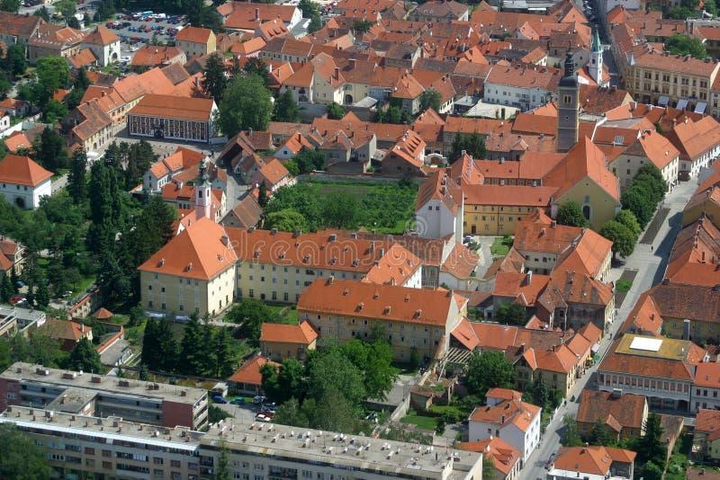 Varazdin, Chorwacja fotografia stock