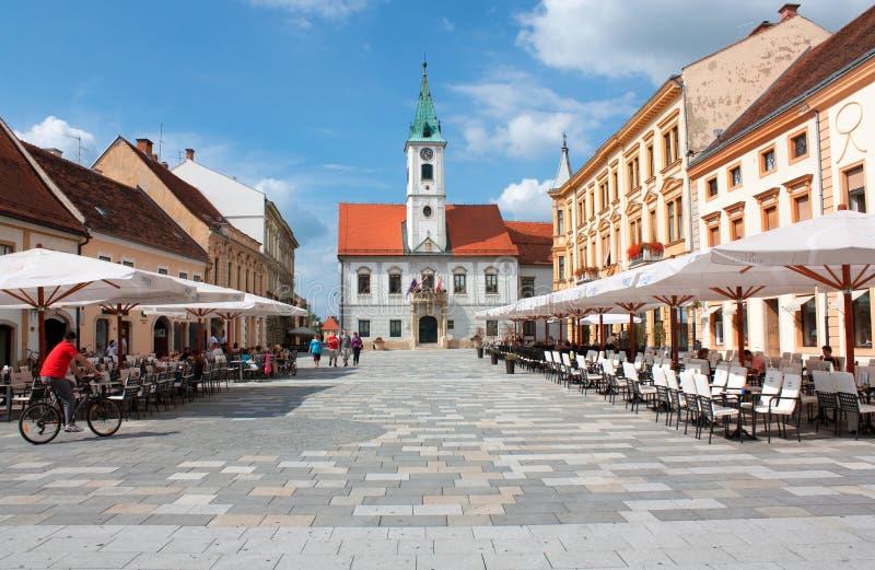 Varazdin - Croatia stock images