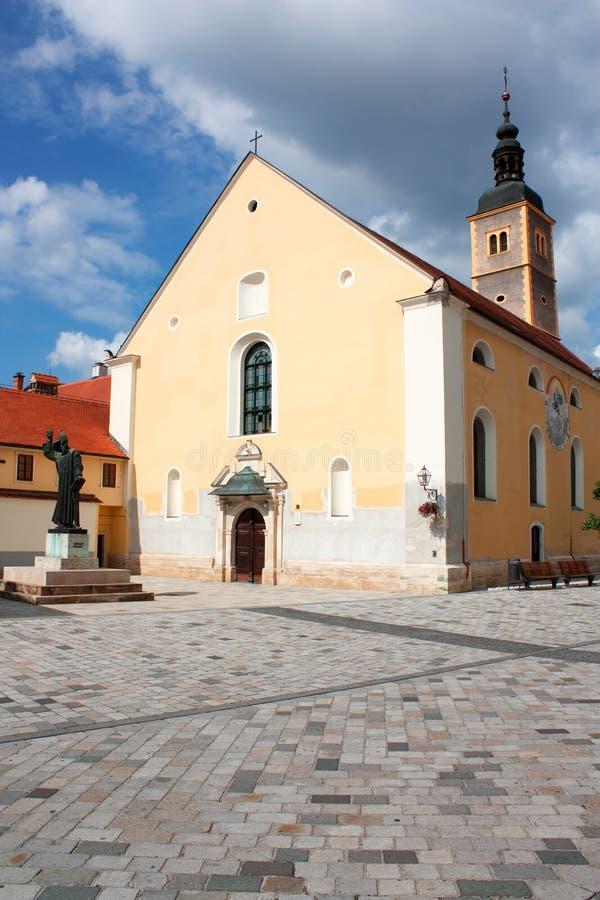 Varazdin - symbol of town stock photo