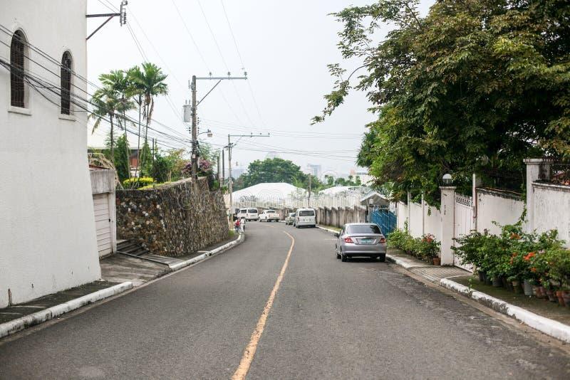 Vardagsliv av filippiner i Cebu stadsFilippinerna arkivfoto