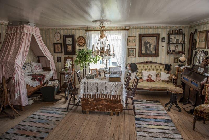 Vardagsrum Goteborg, Sverige royaltyfri foto