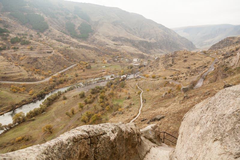 Vardzia cave monastery, Georgia stock photo