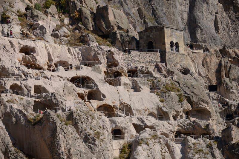 Vardzia Cave Monastery In Samtskhe-Javakheti Region, Georgia stock photos