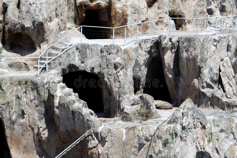 Vardzia jamy monaster zdjęcie royalty free
