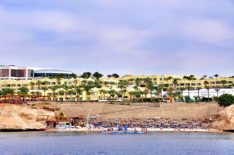 Vare en el hotel de lujo, Sharm el Sheikh, Egipto fotos de archivo libres de regalías