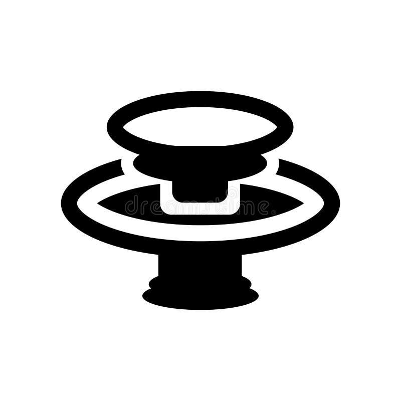 Varec del icono que se lava  ilustración del vector