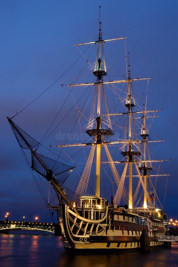 Varend schip stock fotografie