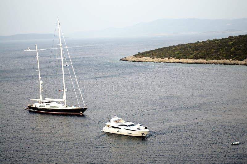 Download Varende boot in Bodrum stock afbeelding. Afbeelding bestaande uit sailing - 10775447