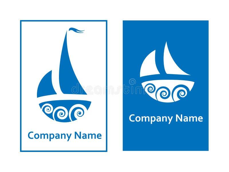 Varende emblemen stock illustratie