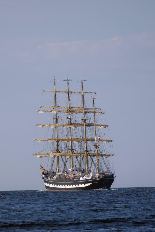 Varende schepen (parade wereldwijd) stock fotografie