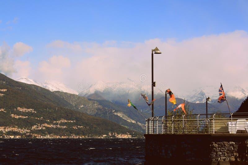 Varenna в Италии стоковые изображения rf