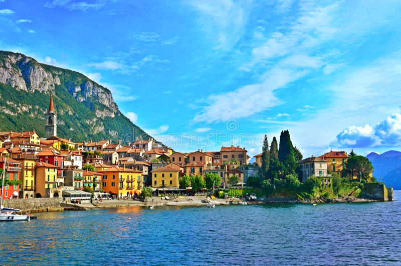 Varenna, Italia foto de archivo