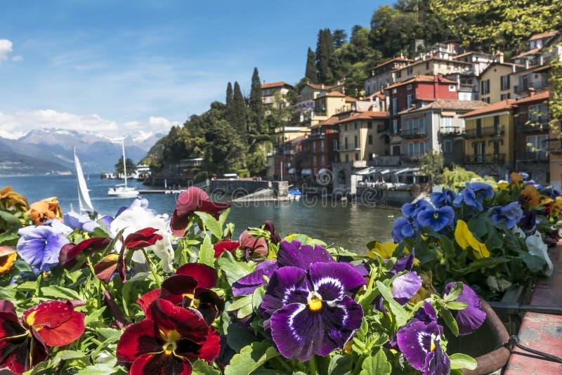 Varenna (lac Como) photo stock