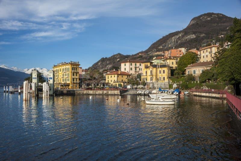 Varenna (lago Como) fotografía de archivo