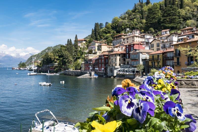 Varenna (lago Como) fotografía de archivo libre de regalías