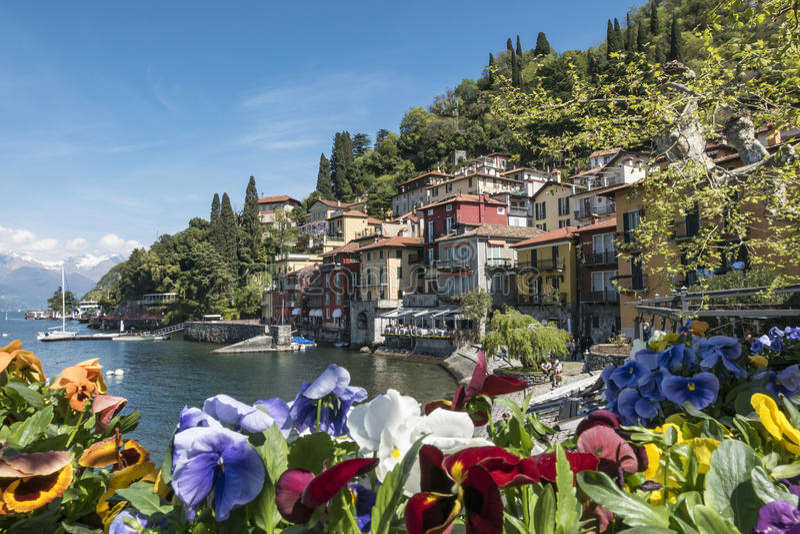 Varenna (lago Como) fotografia de stock royalty free