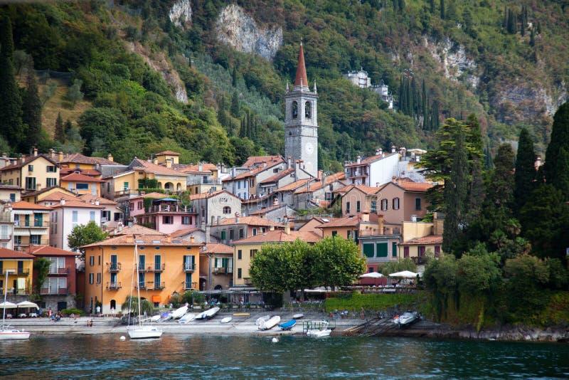Varenna, lago Como, Italia foto de archivo libre de regalías