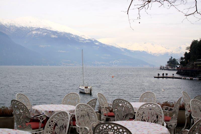 Varenna, lago Como, provincia de Lecco, región Lombardía imagen de archivo