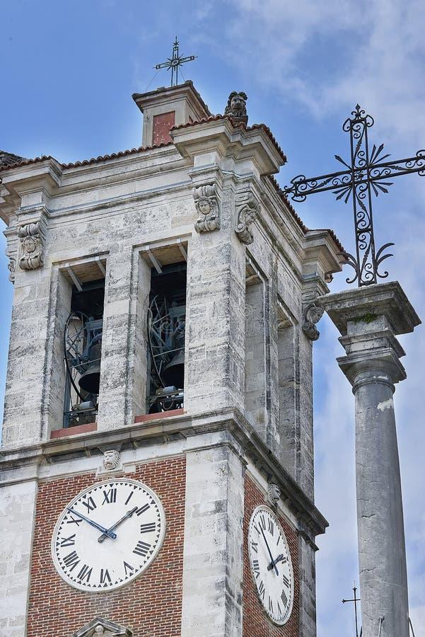 Varese, Itália - 4 de junho de 2017: A montagem sagrado de Varese ou do Sacro Monte di Varese é um do monti do sacri nove nas reg imagem de stock