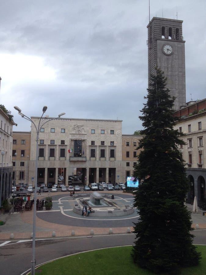 Varese, Piazza Monte Grappa stock fotografie